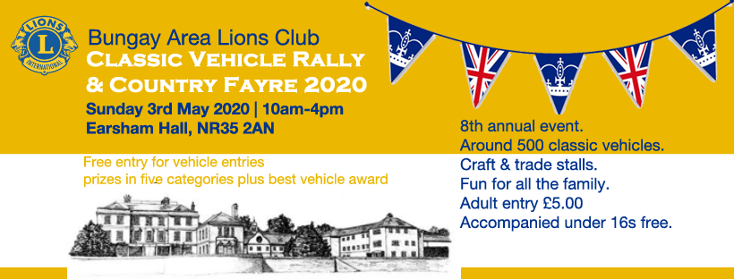 Bungay Area Lions Club Classic Vehicle Rally and Country Fayre 020